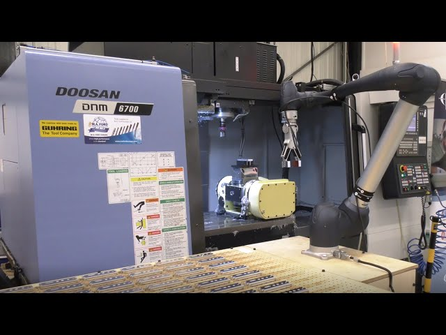 Doosan COBOT delivers unmanned running at Cambridge Precision