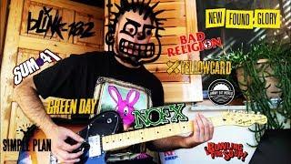 24 Random Pop/Punk Rock Guitar Riffs