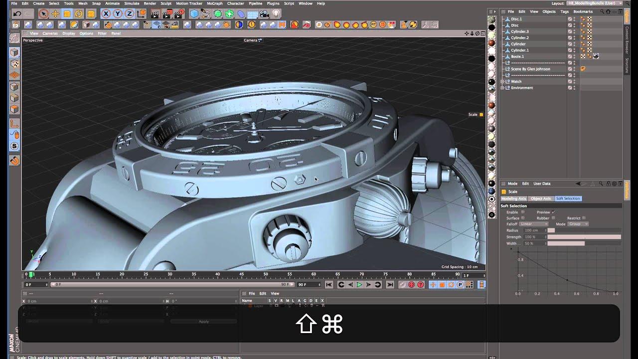 HB MODELLINGBUNDLE 2 20 for Cinema 4D