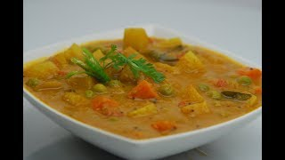 mixed vegetable recipe