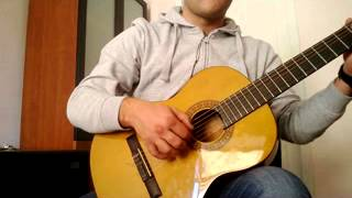 Yeastarday by beatles on guitar