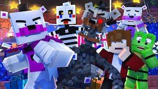 Minecraft FNAF 6 Pizzeria Simulator - FUNTIME FREDDY VS MOLTON FREDDY! (Minecraft Roleplay)