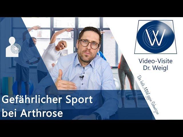 Arthrose heilen ▶ Was darf ich - Was nicht❓ Der richtige Sport im richtigen Maß bei Gelenkschmerzen