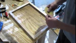 Making A Wood Poster Frame