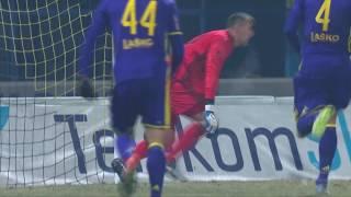 21. krog: Domžale - Maribor 3:2; Prva liga Telekom Slovenije 2016/17