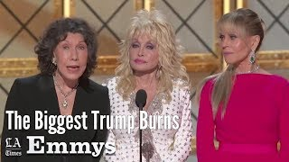 Emmys 2017:  The Biggest Trump Burns | Los Angeles Times