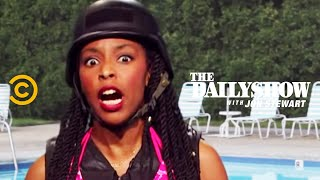 The Daily Show - Assault Swim - Progress in Community Policing