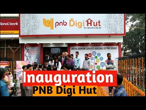 PNB Digi Hut inauguration at Sansad Marg, Punjab National Ba