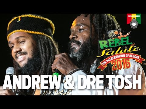 Andrew Tosh & Dre Tosh Live at Rebel Salute 2016