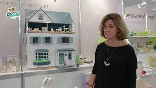 Drevený mestský domček pre bábiku Foxtail Villa Te