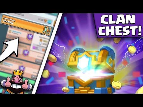 neue clan truhe alles was du wissen musst  500 karten mit 10 verschiedenen stufen  clash royale