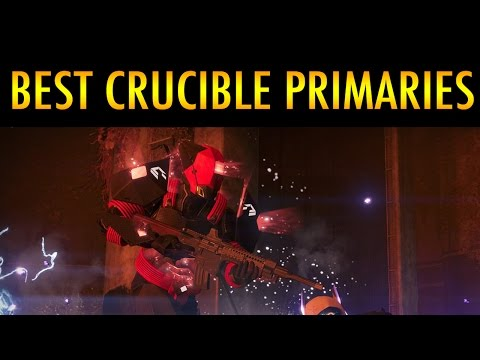 Top 5 Best Primaries In Destiny PVP