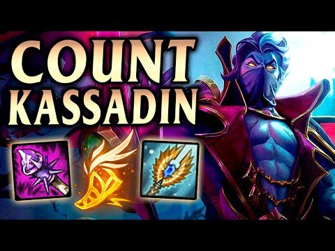 Count Kassadin! How to Add 400 RANGE to RIFTWALK! - League of Legends S10