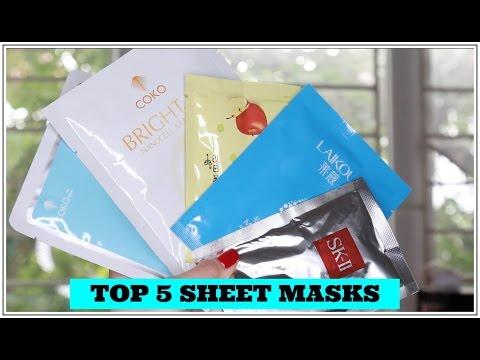 Top 5 Mặt Nạ Giấy Trinh Mê – My 5 Favorite Sheet Masks – TrinhPham