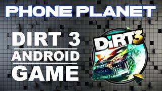 Запуск игры DIRT 3 на смартфоне ANDROID - Лучшие игры на андроид 2014