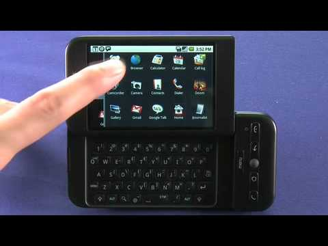 HTC Dream Android OS smartphone