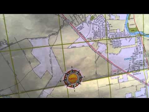 Street Map of San Jose California 1964 YouTube