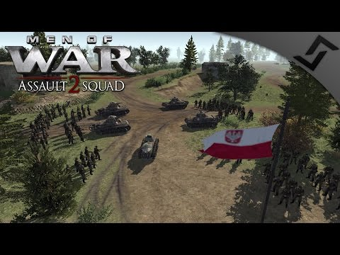 Polish Border Defense 1939 - Men of War: Assault Squad 2 - Mlawa Defense & Valour Mod