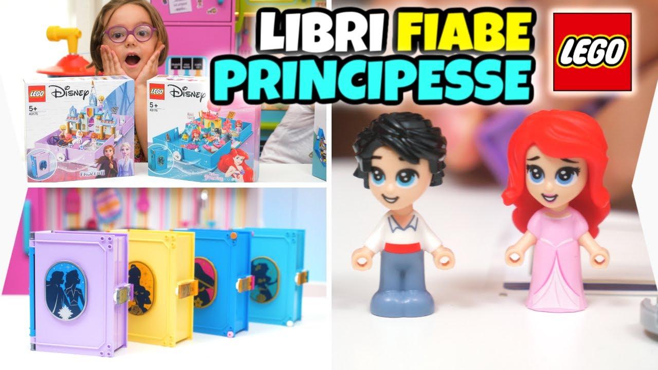 PRINCIPESSE DISNEY LEGO: gli Adorabili Libri delle Fiabe
