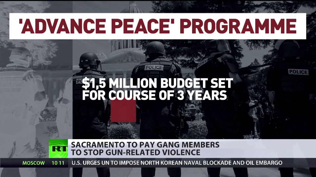 Sacramento to pay gangsters $1.5mn in 3yrs to stop gun-related crimes