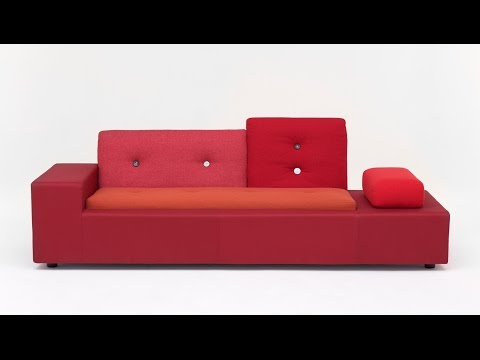 """Polder Sofa by Hella Jongerius for Vitra is a """"collage of textiles"""""""