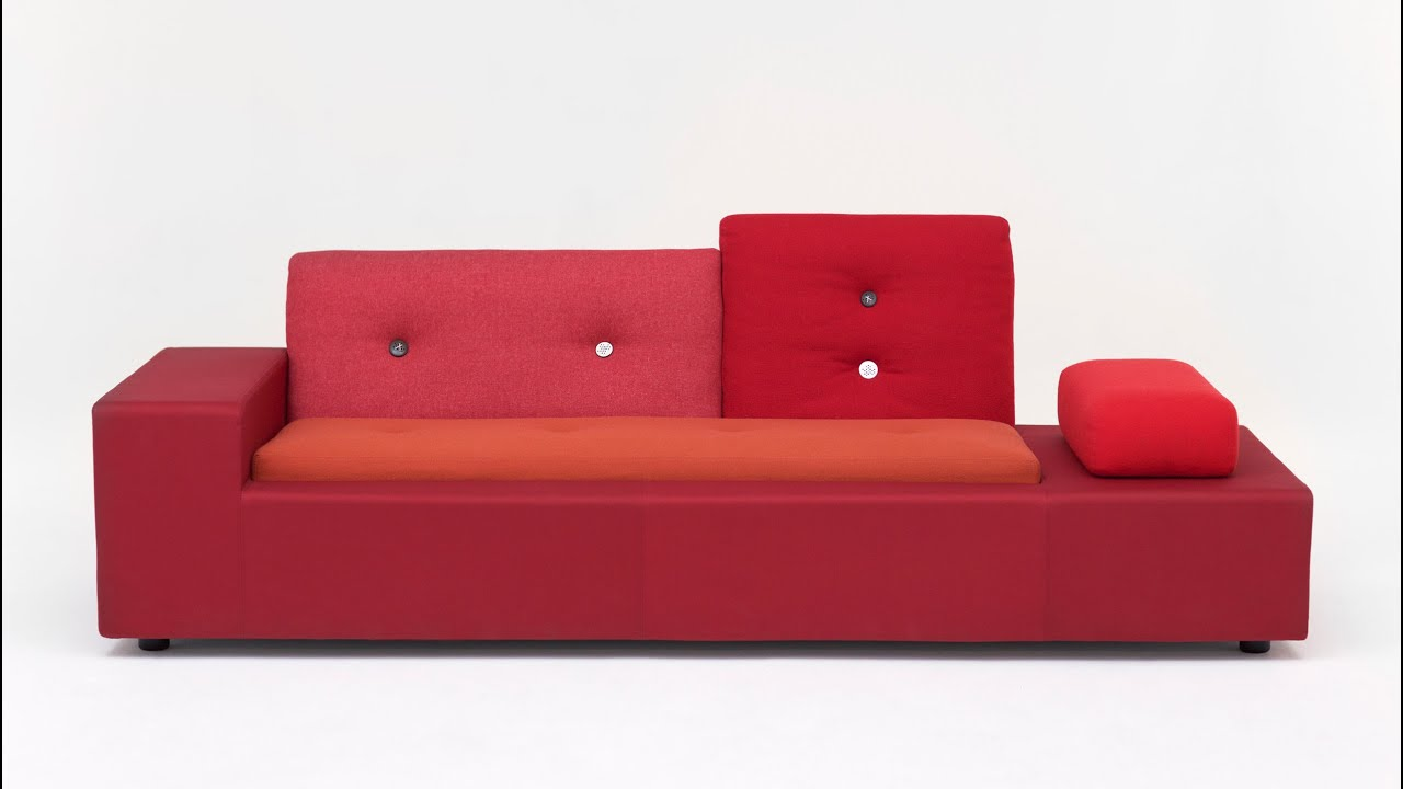 polder sofa by hella jongerius for vitra is a collage of textiles  - polder sofa by hella jongerius for vitra is a collage of textiles youtube