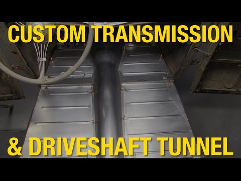 How to Build a Custom Transmission & Driveshaft Tunnel - Ford Model A - Eastwood