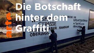 TRACKS: Street Art meets Migrantifa – mit Graffiti politisch aktiv werden | ARTE