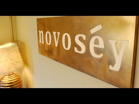 DIY: Wall Art Canvas | Personalized Graphic Print | Bedroom Decor || Chanelle Novosey