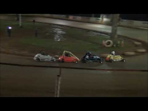 Shellhammers Speedway Senior Honda Quarter Midget Feature- 9/29/2018