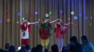 Kudiyan Da Bhangra, Punjabi Dance Performance by Girls At Teej 2013, Melbourne