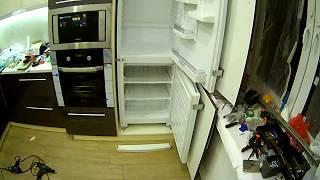як зробити вбудований холодильник
