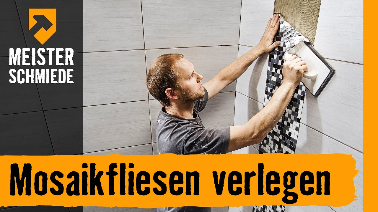 mosaikfliesen verlegen hornbach meisterschmiede youtube. Black Bedroom Furniture Sets. Home Design Ideas