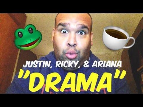 JUSTIN BIEBER, RICKY ALVAREZ, & ARIANA GRANDE DRAMA
