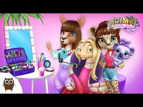 animal-hair-salon-australia-besties-are-having-makeovers!-🥰🌈-|-tutotoons-cartoons-&-games-for-kids