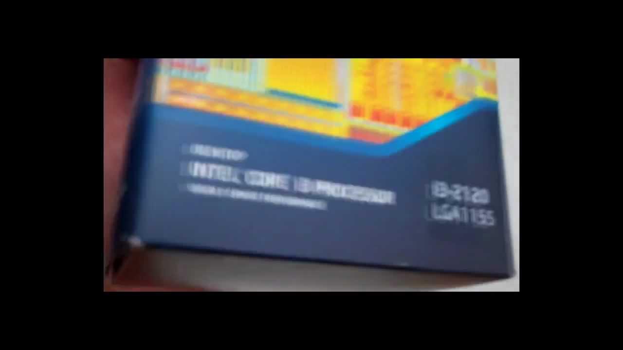 Intel Core I3 2120 Dual Hypertheading Lga 1155 33ghz Sandy Bridge