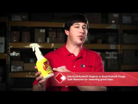 SnapStone Grout Haze Removal