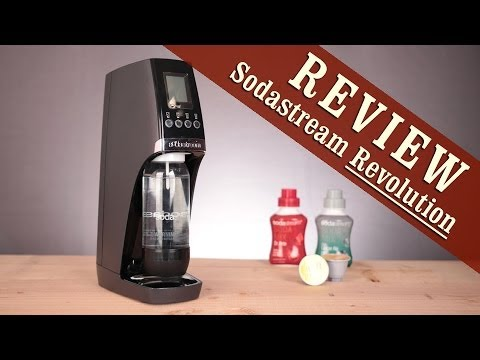 Review: Sodastream Revolution Home Soda Maker - YouTube