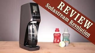 Review: Sodastream Revolution Home Soda Maker