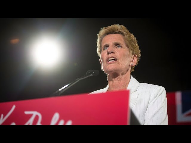 "Kathleen Wynne is stepping down as leader of the Ontario Liberals following the party's poor performance in Thursday's provincial election. The outgoing premier says she is ""passing the torch"" to a new generation. (The Canadian Press)"