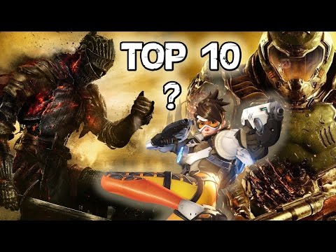 Top 10 Games in 2016 (Number 0 might surprise you!)