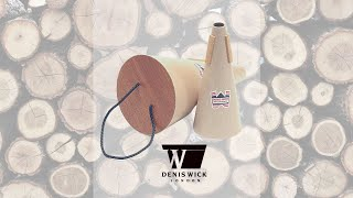 Denis Wick Wooden Mute Review and NEW Composition by Scott Robinson