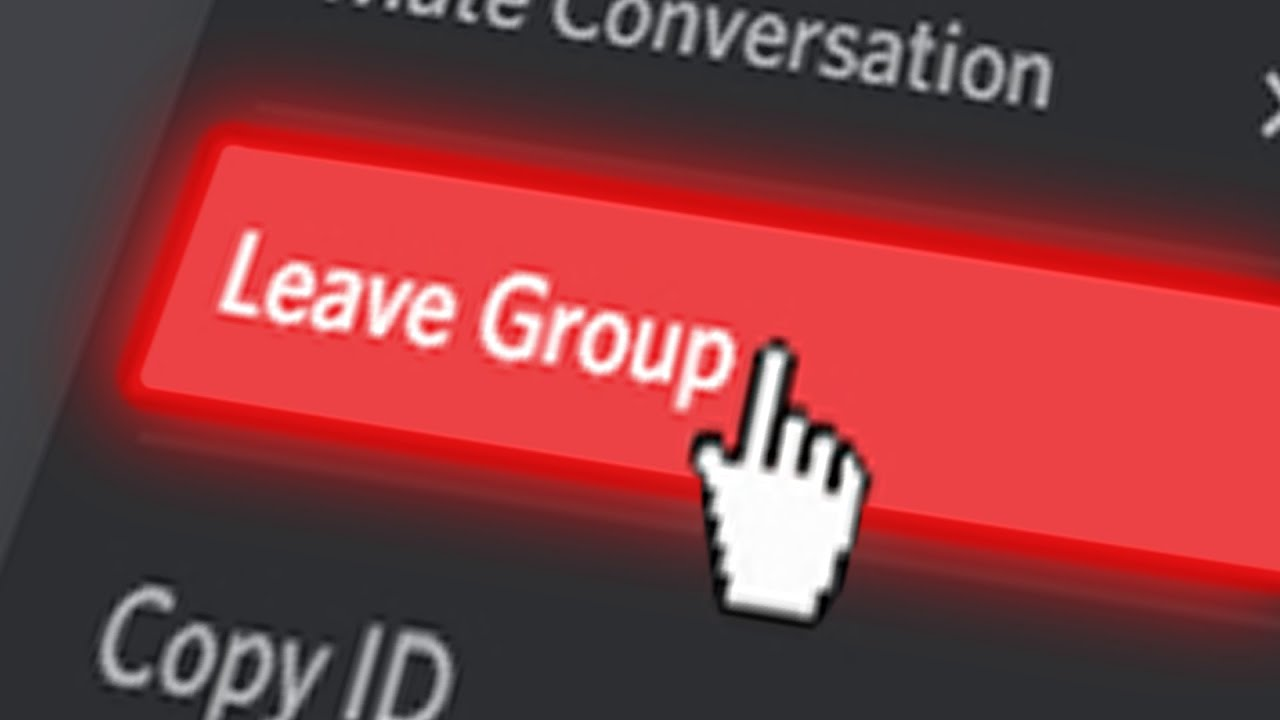 People Who Leave Every Discord Group Chat