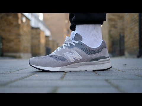 Amazing! New Balance 997H Review & On Feet (Grey) - YouTube