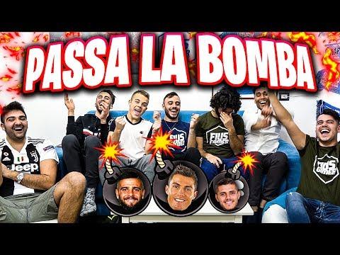 💣PASSA LA BOMBA CON i CALCIATORI!!! w/Ohm, Enry Lazza, T4tino23