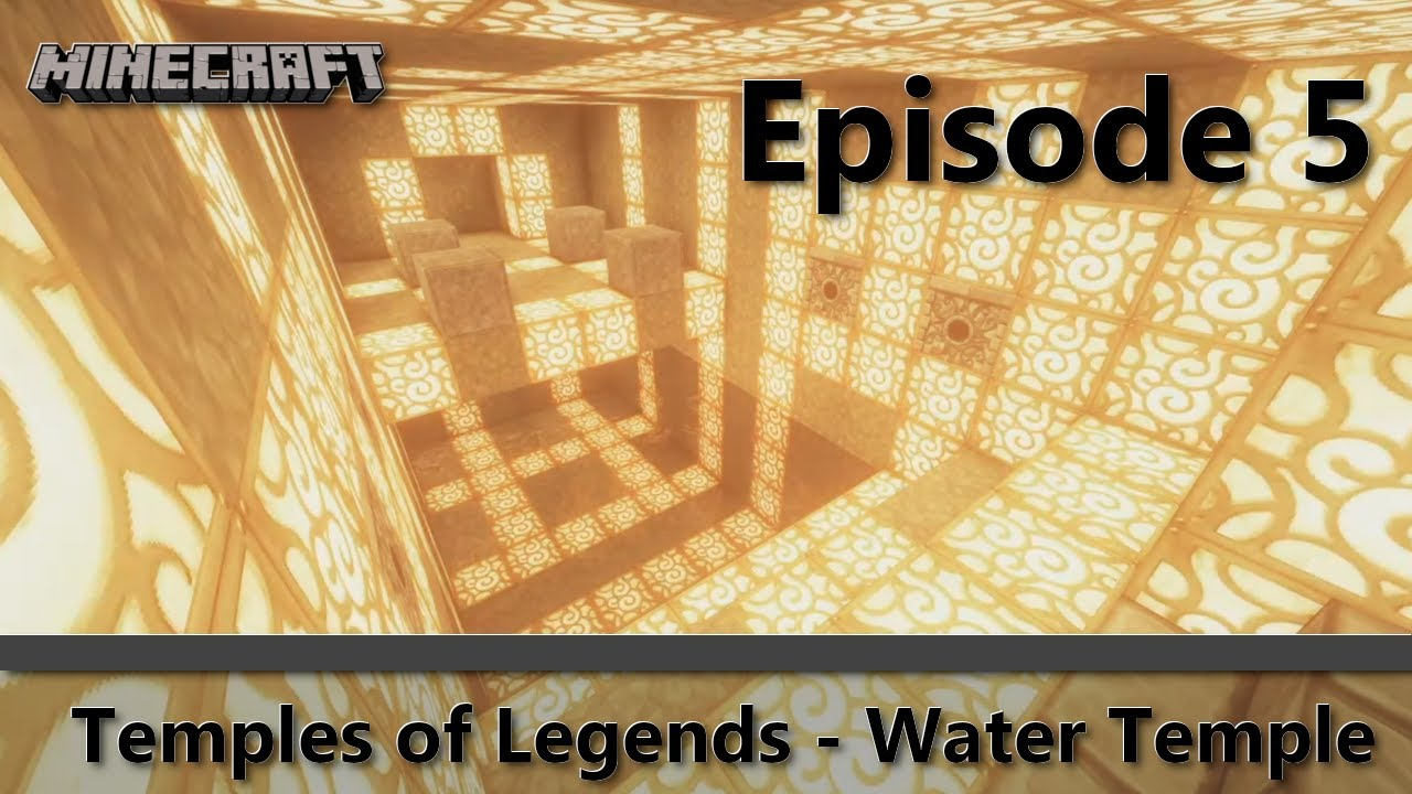 Minecraft: Temples of Legends - Water Temple (Episode 8)