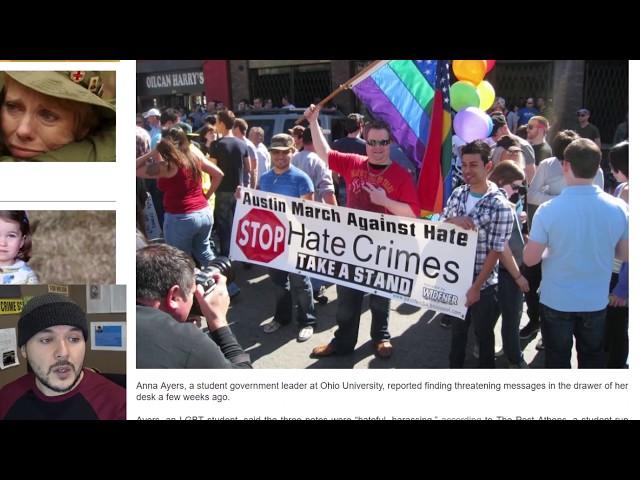 Regressive Leftists Faking Hate Crimes For Political Power