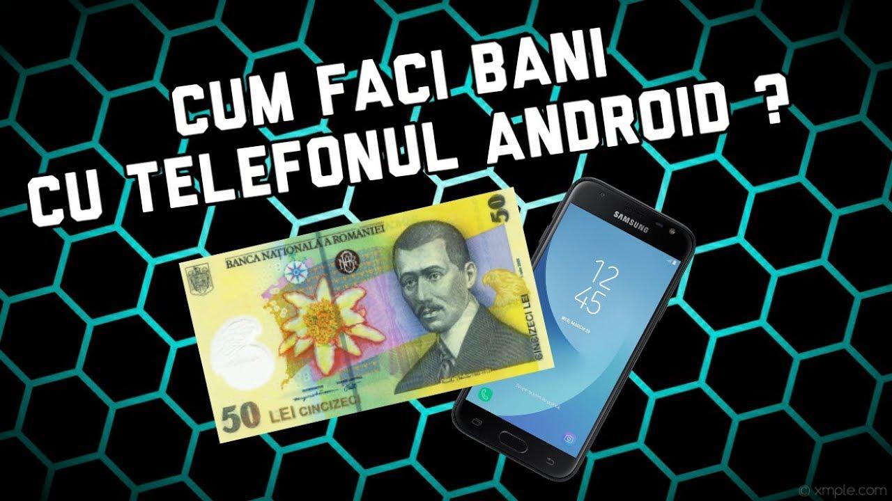 10 Moduri prin care să faci bani cu Smartphone-ul tău