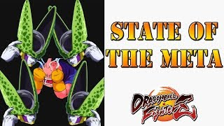 Dragon Ball FighterZ - State of the current competitive meta
