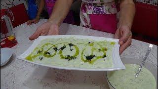 Yoğurtlu Kabak Salatası Nasıl Yapılır - osman çakır